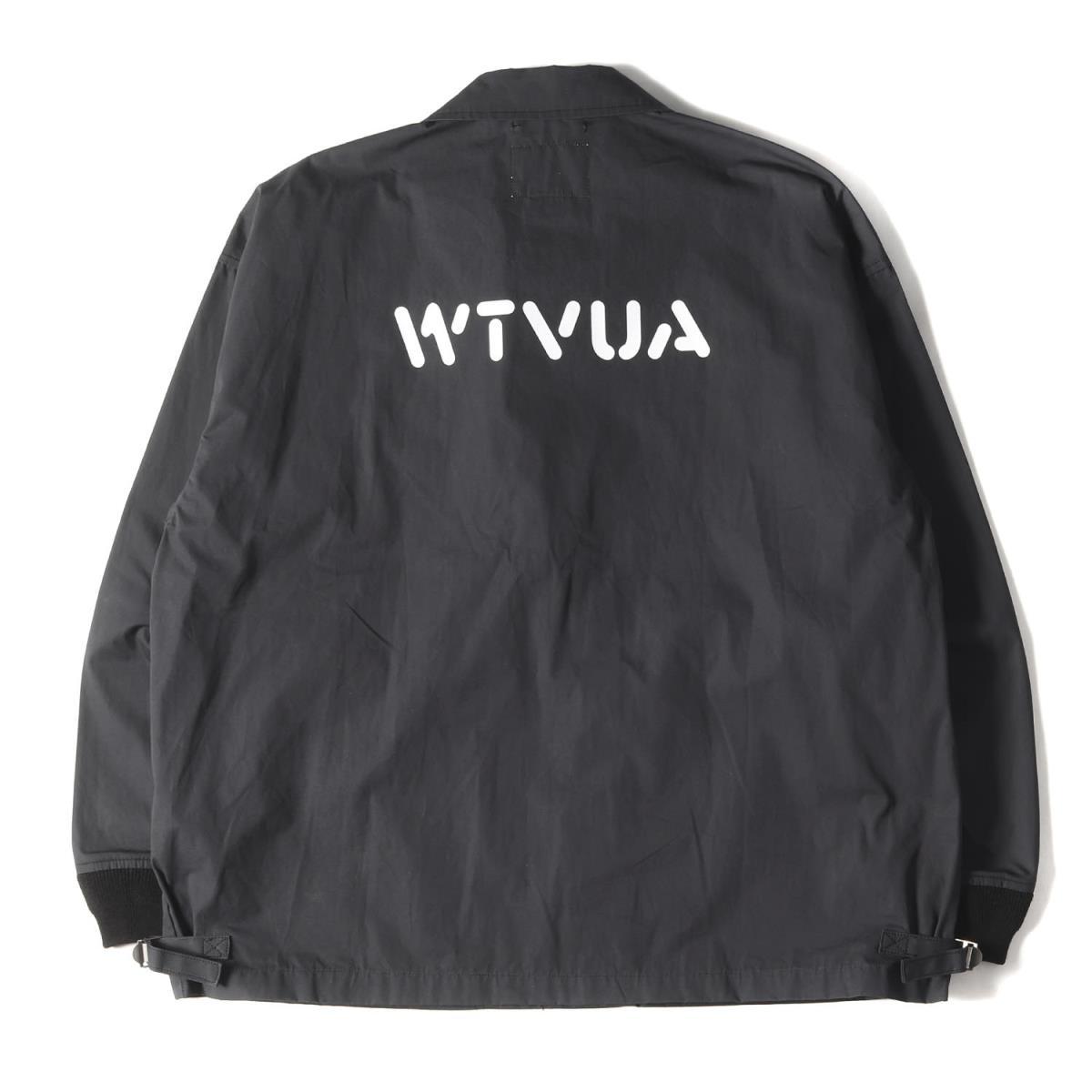 WTAPS ダブルタップス ジャケット 20SS WTVUAロゴ A 2 デッキジャケット D2ブラック LメンズK2661WD92HIE