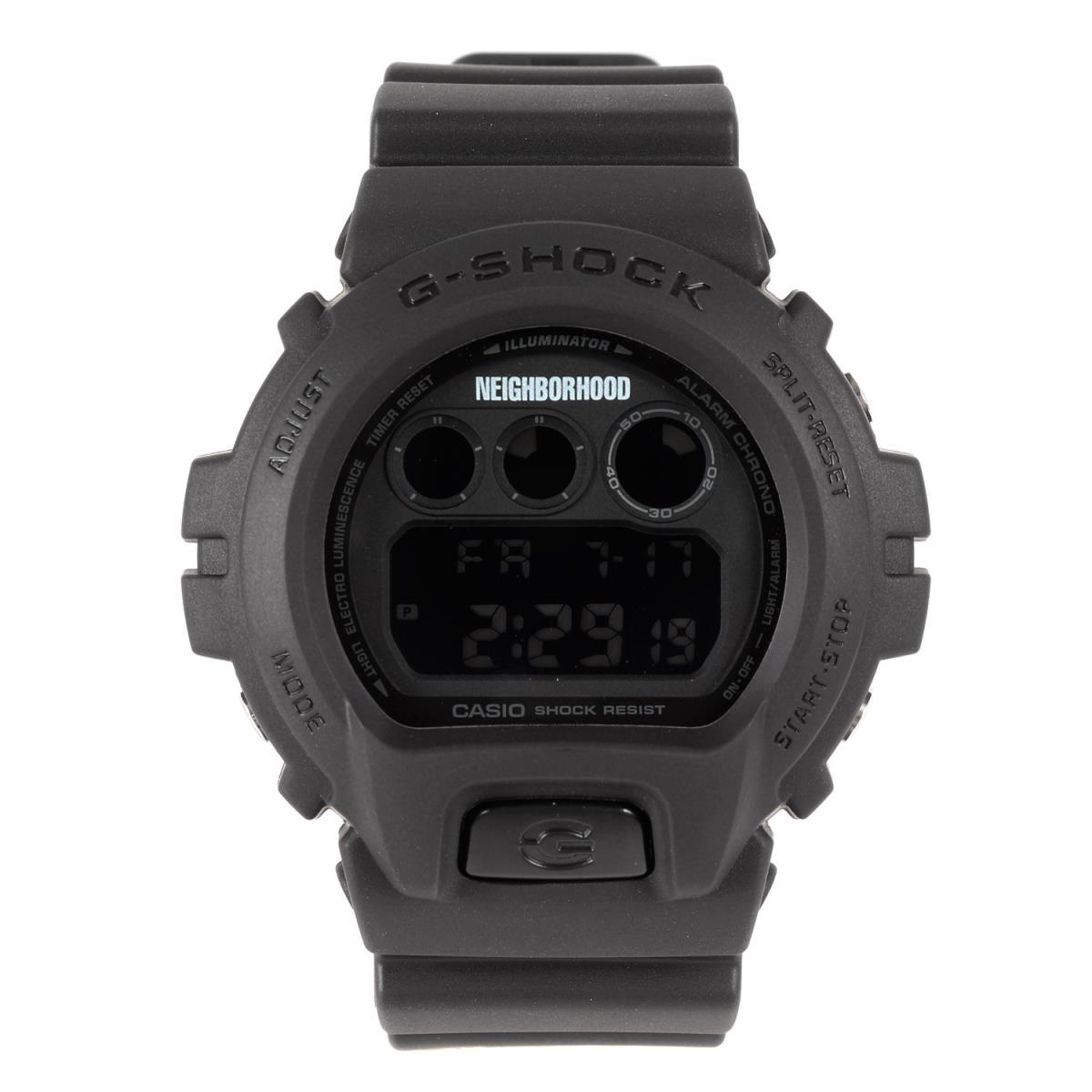 NEIGHBORHOOD ネイバーフッド G-SHOCK ジーショック DW-6900FS 腕時計 ウォッチ18SS ブラック 【メンズ】【中古】【美品】【K2720】