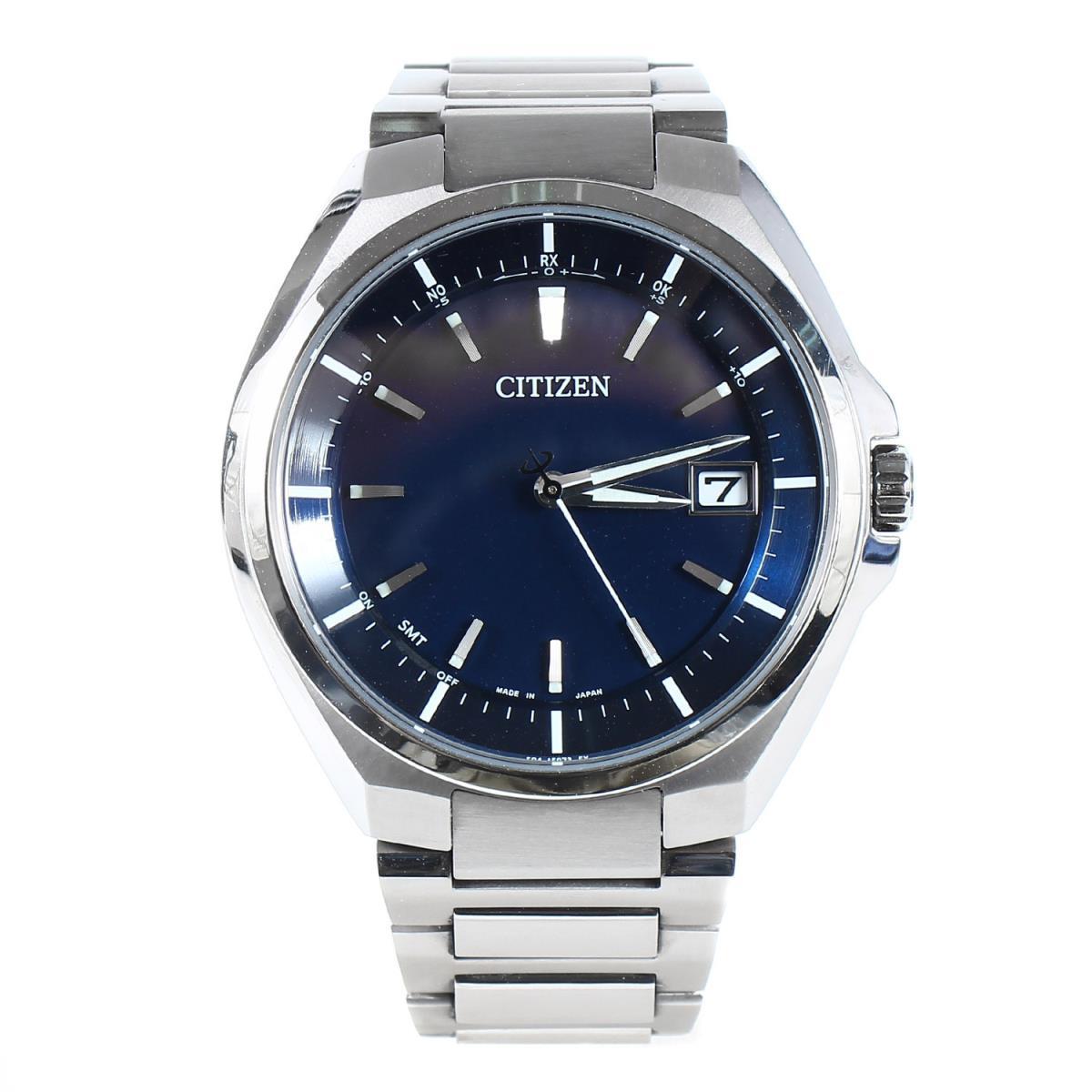 CITIZEN シチズン ATTESA アテッサ CB3010-57L 腕時計 / ウォッチ シルバー ブルー文字盤 【メンズ】【中古】【美品】【K2759】