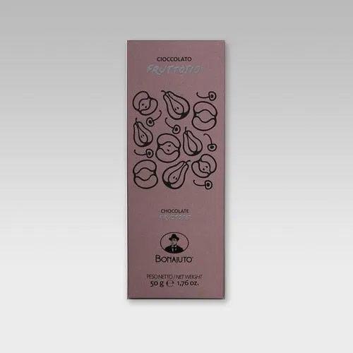 濃厚なカカオの香りAntica Dolceria Bonajutoの古代チョコレート タブレット型 通常便なら送料無料 フルーツシュガー50g イタリア製古代チョコレート 本店