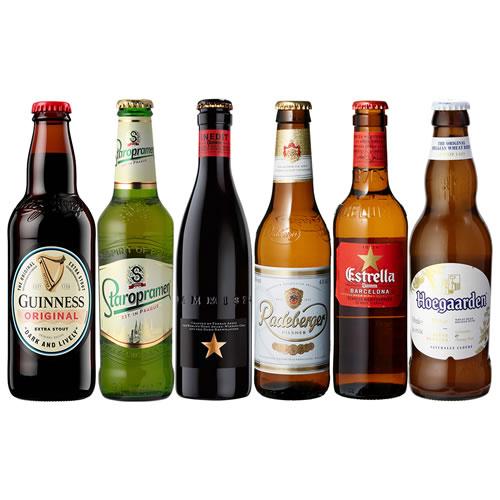 送料無料 スペイン ドイツ ベルギーなどビール本場より大集結 世界のビール6本飲み比べセット 新発売 第2弾 詰め合わせ 売却 オクトーバーフェスト スペイン産高級ビール入り 長S