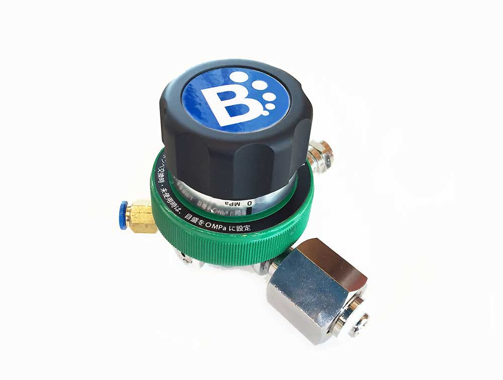 Beeタンニューモデル/オリジナル8気圧業務用減圧弁単品のみ(ミドボン・炭酸ガスボンベにセット・炭酸水サーバー・炭酸水 製造)