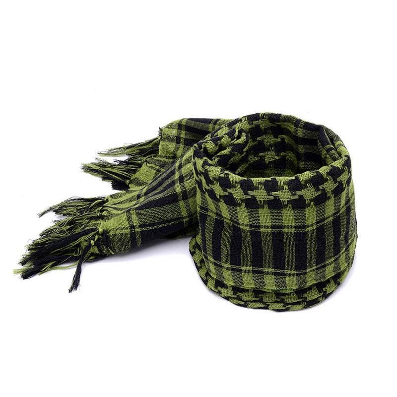 サバゲ―などに最適 もちろんファッションアイテムとしても アフガンストール グリーン サバゲ―などにも最適 送料無料 シュマグ SHEMAGH スカーフ 装備 コスプレ ブランド品 レディース タクティカルギア サバゲ― 限定モデル ネックガード ストール メンズ