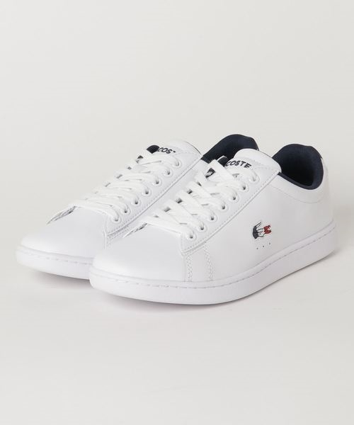 LACOSTE(ラコステ) SFA0048-407LACOSTE CARNABY EVO TRI 1 (WHT/NVY/RED) SFA0048