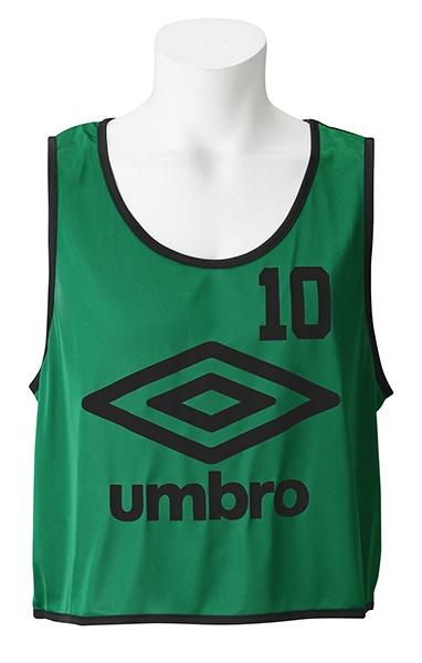 UMBRO(アンブロ)UBS7557Z-KLY【ユニセックス】ストロングビブス10P【UBS7557Z】【サッカー】【ビブス】
