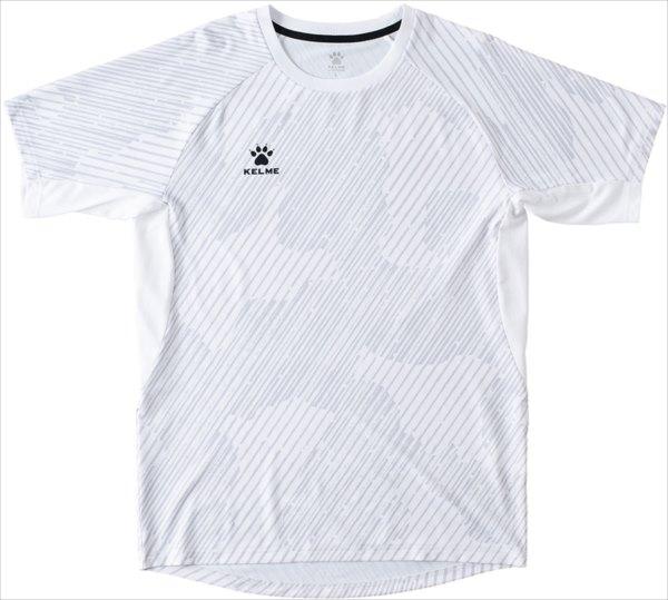 KELME ケルメ フットサル ゲームシャツ 選択 代引不可 KELME ケレメ 上品 サッカー KC20S302 男女兼用 KC20S302-100半袖ゲームシャツ フットサル ユニセックス サッカー