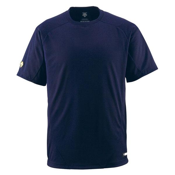 39ショップ ☆送料無料☆ 最新 当日発送可能 店内全品送料無料 代引不可 デサント DESCENTE DB200-DNVY 丸首Tシャツ Tシャツ ベースボール メンズ DB200