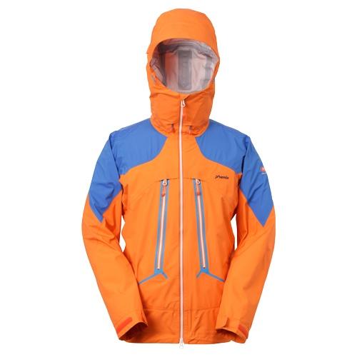 【訳あり】現品限り&PHENIX(フェニックス) PM412ST00-OR【メンズ】Clamber 3L Jacket =Sサイズ=【シェルトップス】【アウトドア】【S】