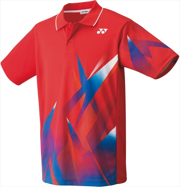 Yonex ヨネックス 希少 テニス 定番スタイル 人気モデル 代引不可 ゲームシャツ サンセットレッド 10373-496ユニセックス 10373