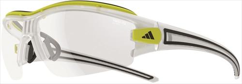 adidas(アディダス) A181016092サイクル サングラス 調光レンズ evil eye halfrim pro Lサイズ マットクリスタル×クリアーグレイ 【A181016092】