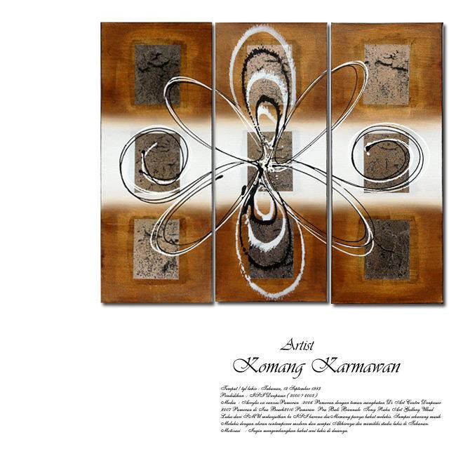 絵画 バリ絵画 アート 幾何学15813 アクリル絵画 幾何柄 幾何学模様 リゾート絵画 アジアン絵画 アジアンアート パネルアート モダンアート アートフレーム 壁掛け 壁飾り リゾート アジアン 送料無料