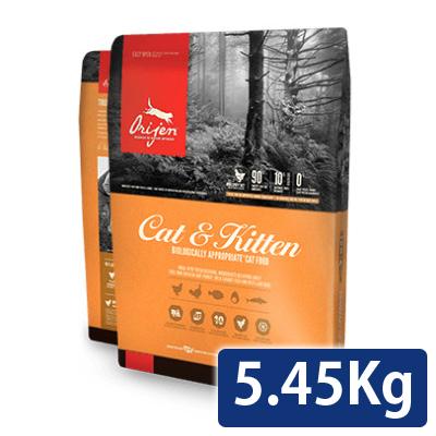 オリジン キャット&キトゥン 5.45kg 送料無料 コンビニ受取対応商品