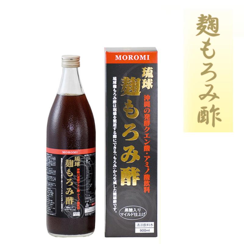 琉球麹もろみ酢 900ml 12本入りケース【8-0012】