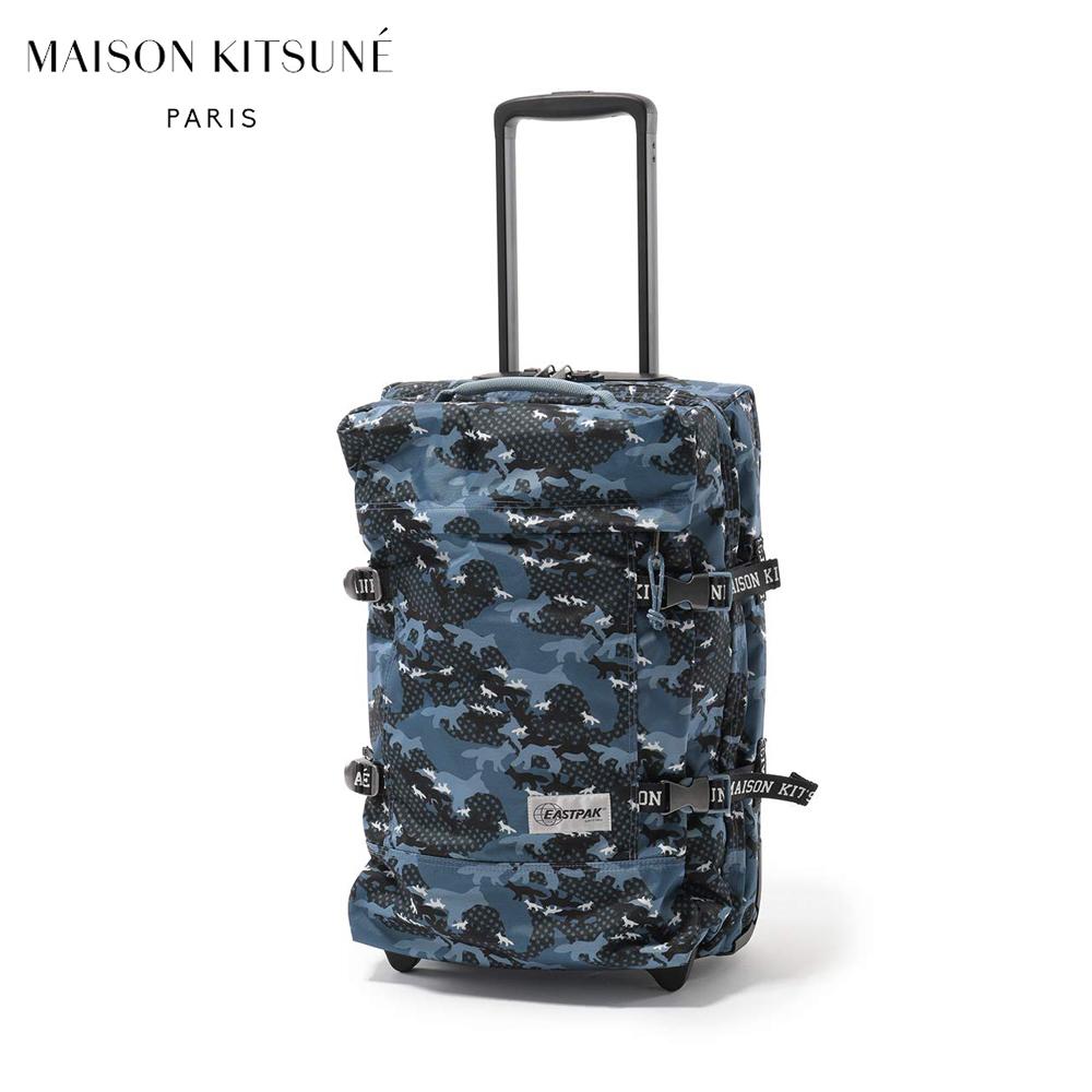 【送料無料】メゾンキツネ×EASTPAK キャリーケース811 IP-0460 MAISON KITSUNE APEAU811 MULTI