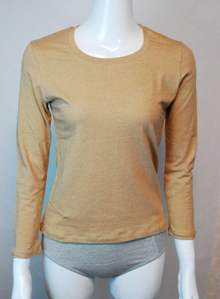 【メール便送料無料】オーガニックコットン オーガニックガーデン ベア天ロングスリーブTシャツ 291301(開封後返品不可商品)インナー、下着、シャツ