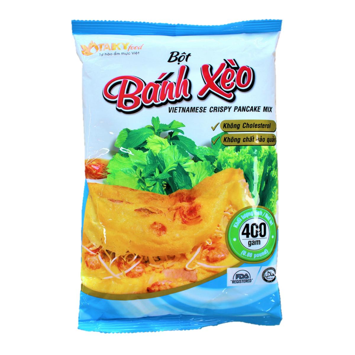 ベトナム料理がお家で楽しめます バインセオ粉 400gB?T B NH 《週末限定タイムセール》 X gam 400 調味用ミックス粉 ? お買い得品 O TAIKYfoodベトナム