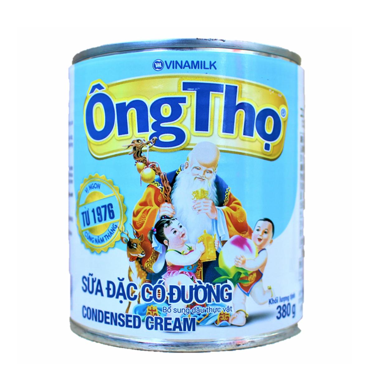 ベトナムコーヒーの必須アイテム OngTho VINAMILK ヴィナミルク 380gコンデンスクリーム ベトナム - NG お得セット 380 gam まとめ買い特価 食品S?A TH?