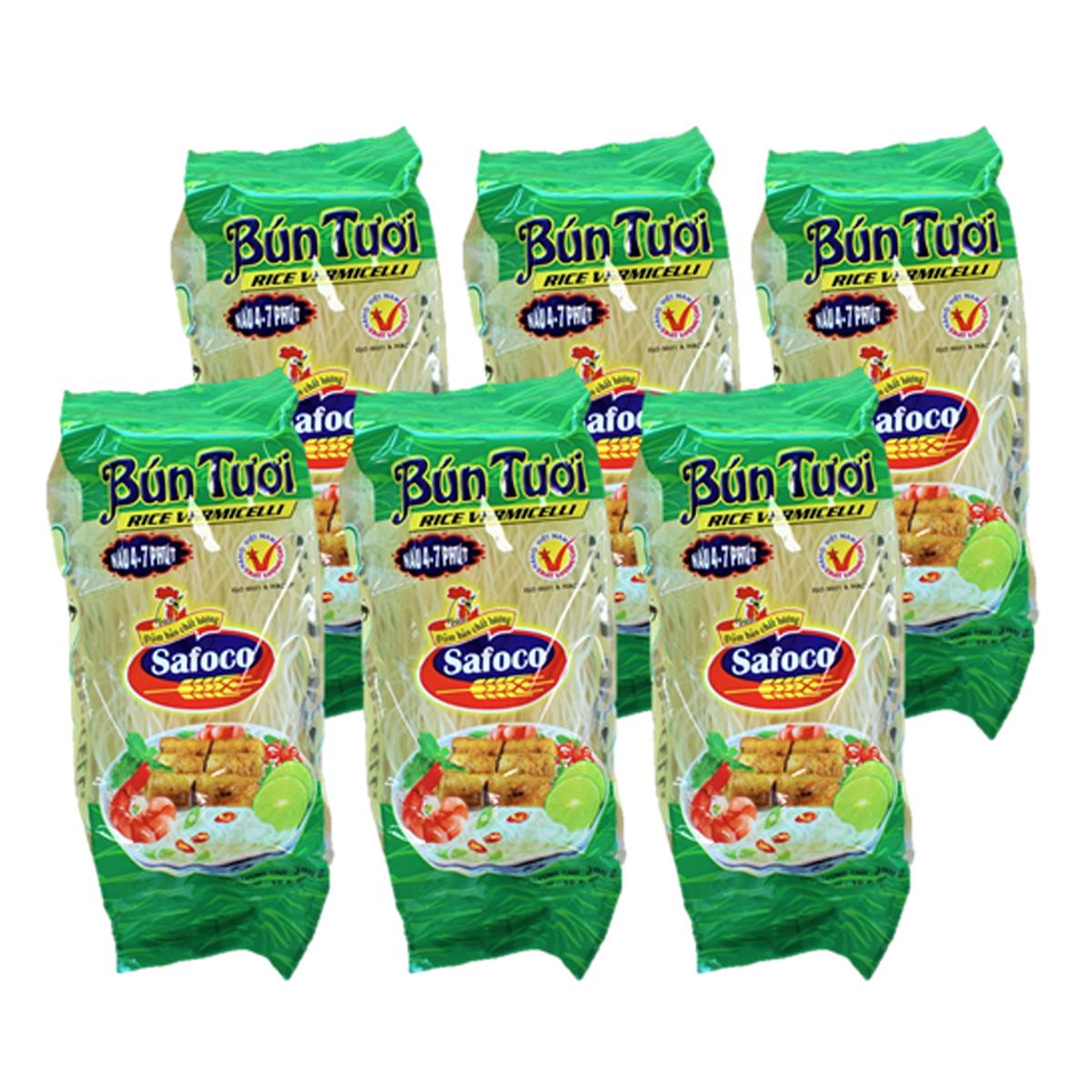 内祝い セットでお買い得 6個セット 至高 Bun Tuoi RICE VERMICELLI 300g×6ベトナムビーフン Safoco