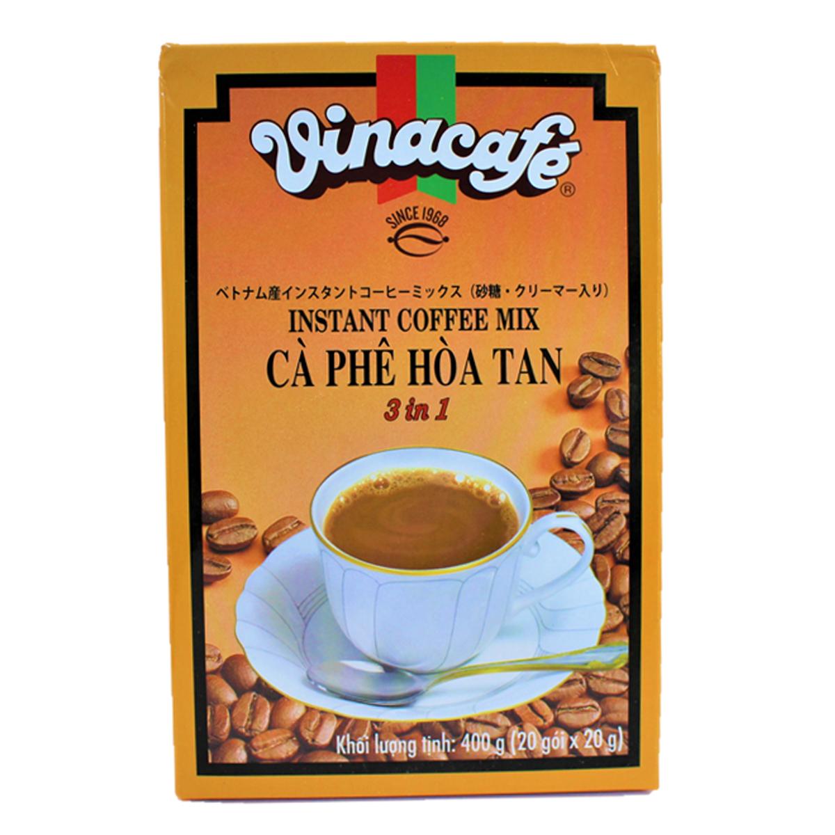 2020秋冬新作 砂糖 クリーマー入りのベトナム産コーヒーミックス インスタントコーヒーミックス 20g×20袋Vinacafe C#193; 公式ショップ PH#200; TAN H?A 食品 3in1 ベトナム 20g#242;i×20g