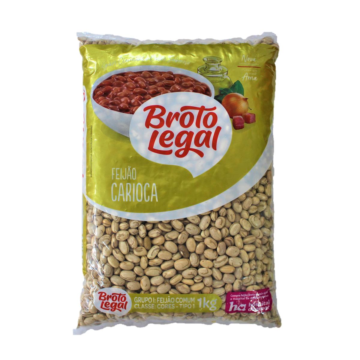 ブラジルの国民食フェイジョンが作れます アウトレットセール 特集 カリオカ豆 1kg Broto LegalFeijao カリオカインゲン豆 食品 いよいよ人気ブランド Carioca フェイジョン ブラジル