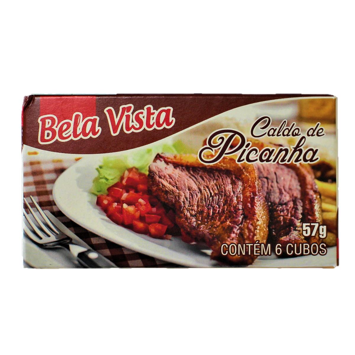 スープやお料理に 爆買い送料無料 乾燥スープの素 コンソメ 57g 6個入り Caldo Bela Picanha 格安店 Vista de
