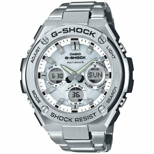 【国内正規品】【送料無料】【サイズ調整無料】【ギフト包装対応】CASIO G-SHOCK「G-STEEL(Gスチール)」GST-W110D-7AJF