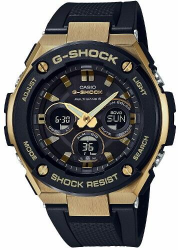 【国内正規品】【送料無料】【サイズ調整無料】【ギフト包装対応】CASIO カシオ G-SHOCK ジーショック「G-STEEL(G-スチール)」GST-W300G-1A9JFミドルサイズ