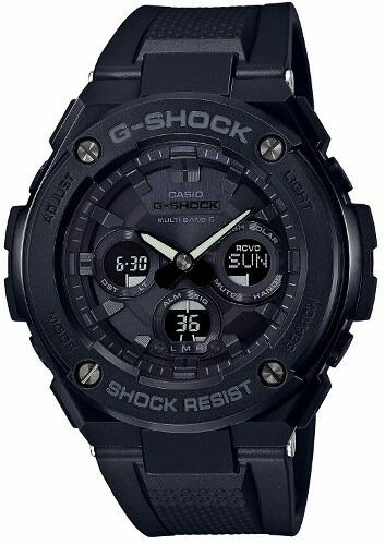 【国内正規品】【送料無料】【ギフト包装対応】CASIO カシオ G-SHOCK ジーショック「G-STEEL(G-スチール)」GST-W300G-1A1JFミドルサイズ