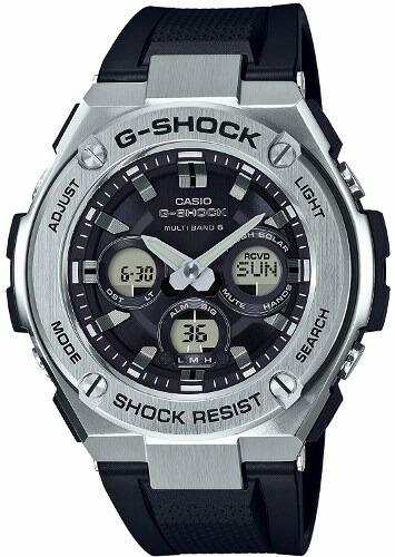 【国内正規品】【送料無料】【ギフト包装対応】CASIO カシオ G-SHOCK ジーショック「G-STEEL(G-スチール)」GST-W310-1AJFミドルサイズ