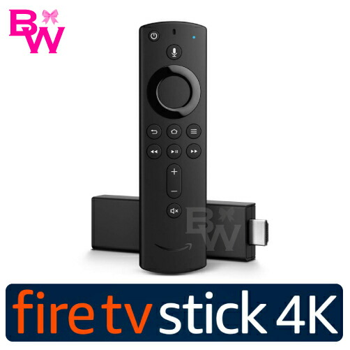 Amazon Fire TV Stick【4K】対応音声認識リモコン付【新品・正規品】Amazonファイアースティック Fire TV Stick-Alexa 対応音声認識リモコン付属 ファイアー TV スティック アレクサ