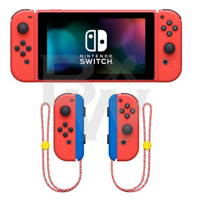 """カラー スイッチ マリオ Nintendo Switch新色""""マリオレッド×ブルー"""