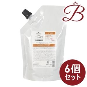 【×6個】シュワルツコフ BCクア カラースペシフィーク マスク 500g 詰替え用