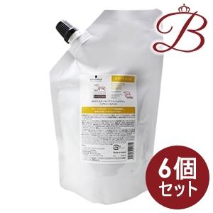 【×6個】シュワルツコフ BCクア カラーセーブ トリートメント 600g 詰替え用