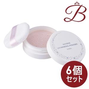 【×6個】カツウラ インボーク UV ミネラルパウダー 4g (SPF50+ PA+++)