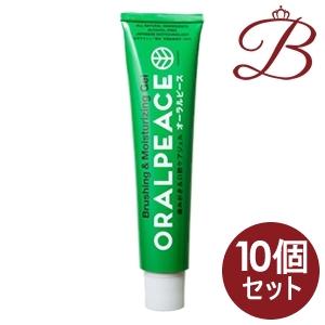 【×10個】オーラルピース クリーン & モイスチュア 80g