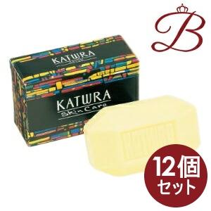【×12個】カツウラ サボン グリーンフローラルの香り 100g