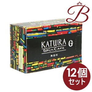 【×12個】カツウラ サボン G 無香料 100g