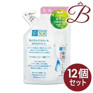 【×12個】ロート製薬 肌研 (ハダラボ) 極潤 ヒアルロン乳液 140mL 詰替え用