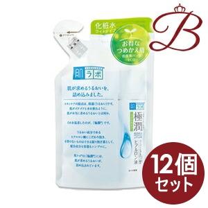 【×12個】ロート製薬 肌研 (ハダラボ) 極潤ヒアルロン液 ライトタイプ 170mL 詰替え用