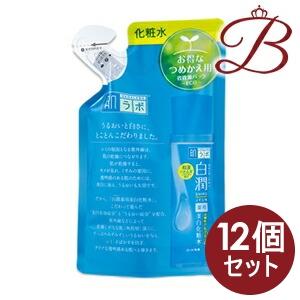 【×12個】ロート製薬 肌ラボ 白潤 (シロジュン) 薬用美白化粧水 170mL 詰替え用