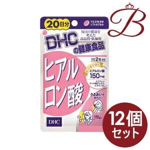 【×12個】DHC ヒアルロン酸 40粒 (20日分)