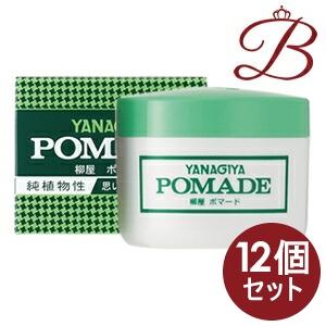 【×12個】柳屋 ポマード (大) 120g