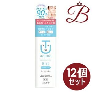 【×12個】アロインス アキュネ 薬用ふきとり化粧水 マイルド 200mL:bellashop
