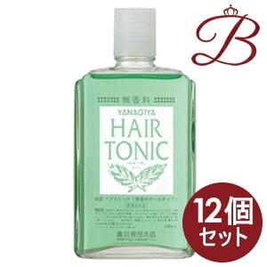 【×12個】柳屋 ヘアトニック (無香料クールタイプ) 240mL