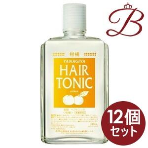 【×12個】柳屋 ヘアトニック (柑橘) 240mL