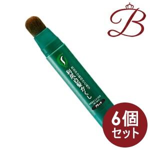 【×6個】ピュール 利尻白髪かくし ブラック 20g
