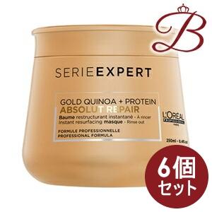 【×6個】ロレアル セリエ エクスパート アブソルートR. ゴールド マスク 250g:bellashop