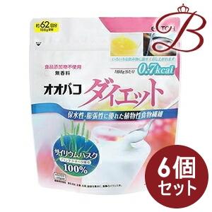 【×6個】井藤漢方 オオバコダイエット 500g