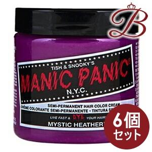 【×6個】MANIC PANIC マニックパニック ヘアカラー クリーム ミスティックヘザー MC11018 118mL