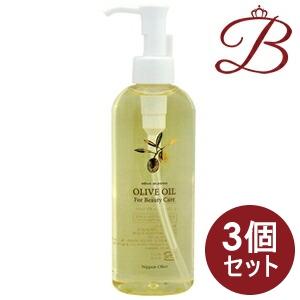 【×3個】日本オリーブ オリーブマノン 化粧用オリーブオイル 200mL